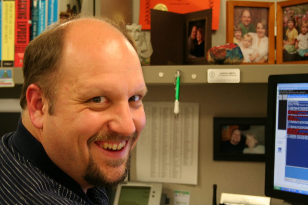 Aaron Smith, Systems Administrator