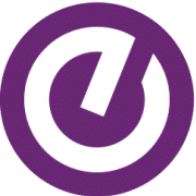 stylized purple e representing the Ellucian logo